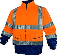 Куртка флуоресцентная демисезонная оранжевая