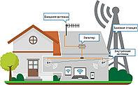 УСИЛИТЕЛЬ СИГНАЛА ТРЕХДИАПАЗОННЫЙ GSM-900 DCS-1800 3G-2100, 1000М2