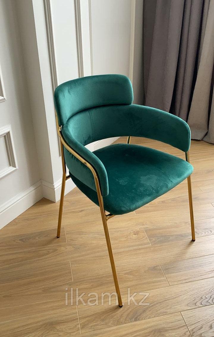 Стул кресло бархат - фото 1