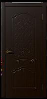 Дверь межкомнатная Боненти, Коллекция Венто 600, Венге, Глухое