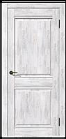 Дверь межкомнатная Омега, Коллекция Геометрия 600, Ель альпийская, Без стекла