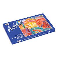 Краски акварельные художественные 24цв в кюветах Гамма Студия