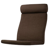POÄNG ПОЭНГ Подушка-сиденье на кресло, Шифтебу коричневый