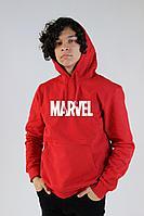 Красное худи, толстовка с принтом Marvel