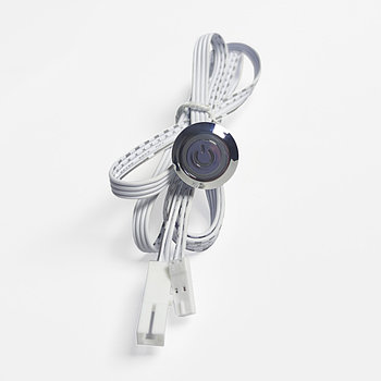 Контроллер FTM03-B серебро 60W TOUCH SENSOR кнопка врезная on/off dim 10-100% (от касания)