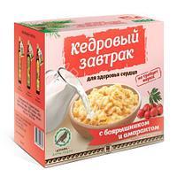 «Кедровый завтрак для здоровья сердца» с боярышником и амарантом, 40 г