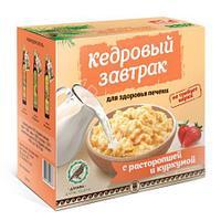 «Кедровый завтрак для здоровья печени» с расторопшей и куркумой , 40г