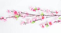 Сакура цветущая (розовая), 120см., тканевая