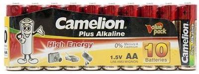 Батарейки Camelion AA (LR6-SP10-DA), alkaline Plus, комплект - 10 штук