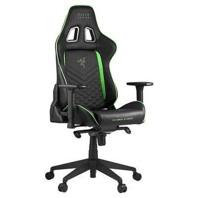 Кресло игровое компьютерное Razer Tarok Pro, черный/зеленый