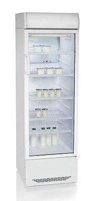 Шкаф-витрина Бирюса-310 Р, белый