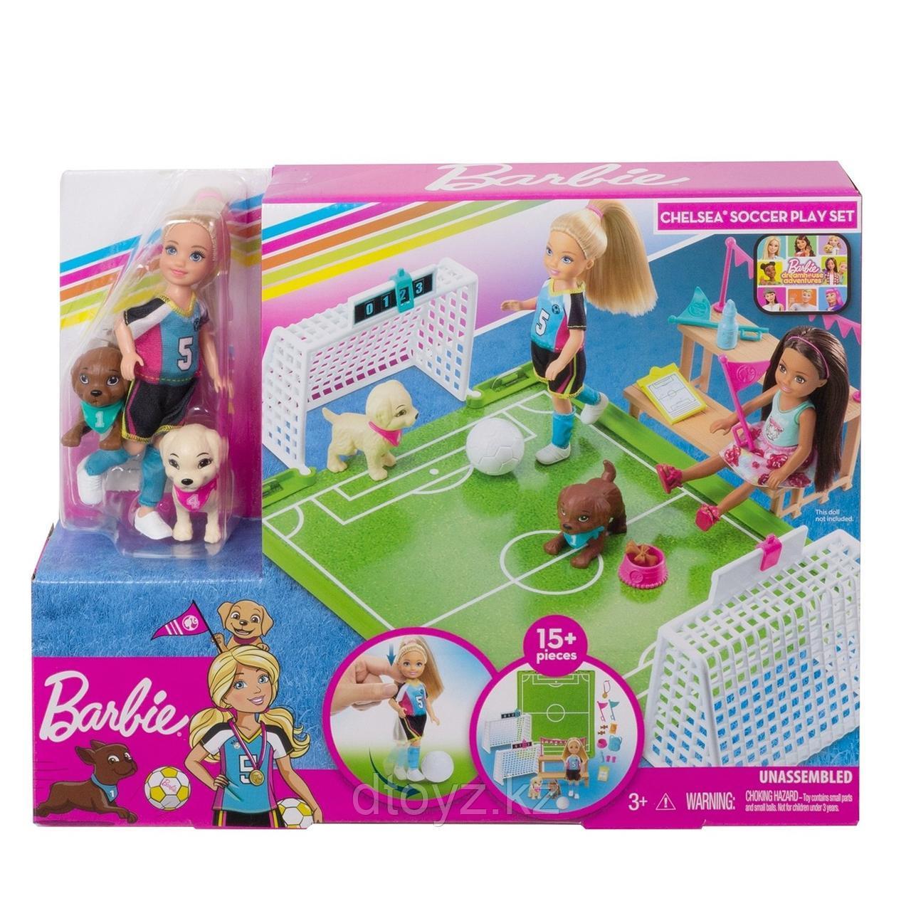 Barbie Челси-футболист GHK37