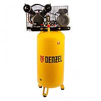 Компрессор воздушный рем. привод BCV2200/100V, 2,3 кВт, 100 литров, 440 л/мин// Denzel
