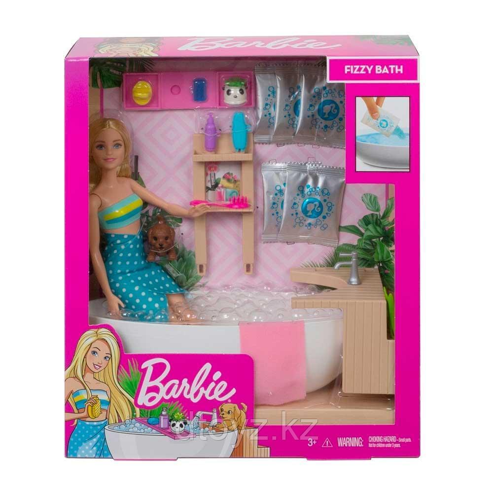 Barbie Игровой набор Спа-салон GJN32