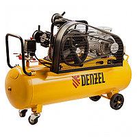 Компрессор воздушный рем. привод BCW3000-T/100, 3,0 кВт, 100 литров, 520 л/мин// Denzel