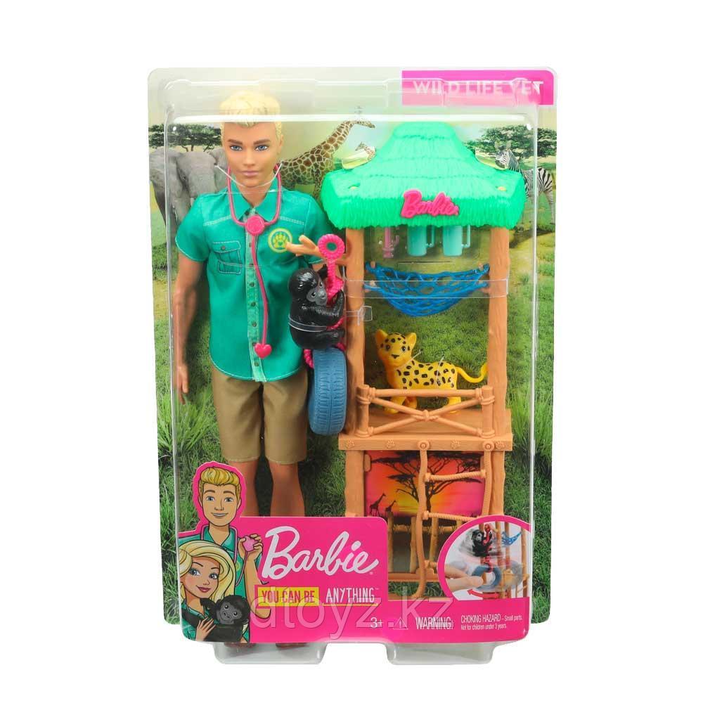 Barbie Игровой набор с Кеном GJM32
