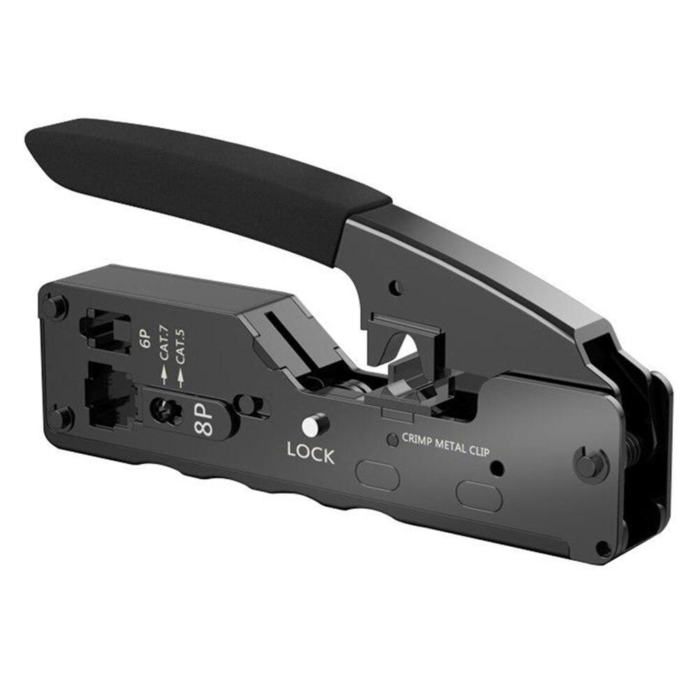 Компактный обжимной инструмент для RJ-45/11