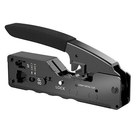 Компактный обжимной инструмент для RJ-45/11, фото 2