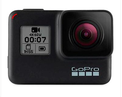 Экшн-камера GoPro Hero 7 Black Edition, 12Mpx, JPEG, 4К, Li-Ion, Wi-Fi, Bluetooth, GPS, Black