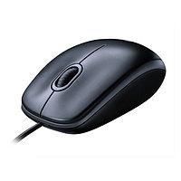 Mouse Logitech M100, optical, 2+1 buttons, USB, [910-005003], dark-grey