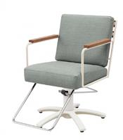 Кресло парикмахерское R.A.F White 01