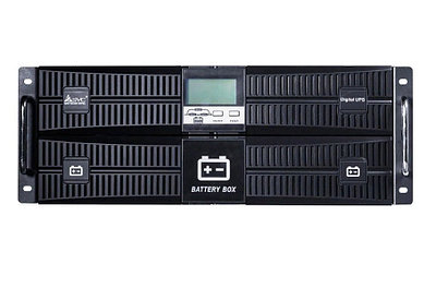 Источник бесперебойного питания SVC RT-10KL-LCD Black