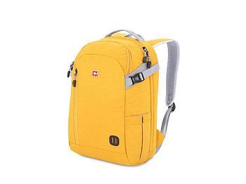 Рюкзак SWISSGEAR 15'', ткань Heather, 31x20x47 см, 29 л, желтый