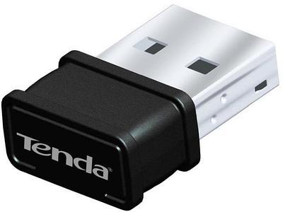 Wireless LAN USB adapter, Tenda W311MI, WiFi 4 (150Mbps), 1x3dB, USB, mini, black