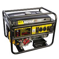 Генератор Huter DY8000LX, бензиновый, 6.5/7 кВт, 25 л, 220 В, электростарт + МАСЛО