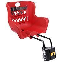 Велокресло переднее Pulcino B-Fix, цвет красный