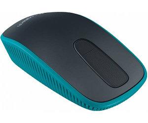 Мышь Logitech Zone Touch T400 оптическая беспроводная USB, черный и синий [910-003314]