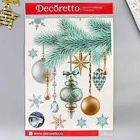 Наклейки Decoretto 'Украшенная елочка' 35х50 см