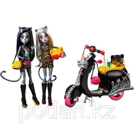 Набор кукол Монстер Хай Веркошки, на колёсах - фото 3