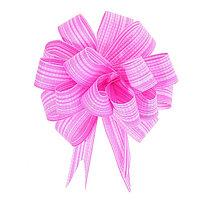 Бант-шар 1,8 тонкие полосы, розовый (комплект из 50 шт.)
