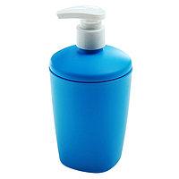 Дозатор для жидкого мыла Aqua, 300 мл, цвет голубой