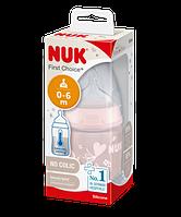 NUK Бутылка FC+ 150 мл ТЕРМ c сил с (р1) Baby Rose PP