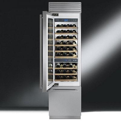 Встраиваемые винные холодильники Smeg