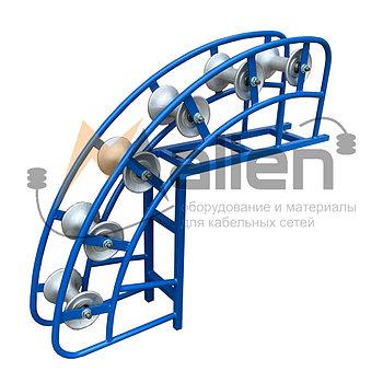 РКУ 6-120А Ролик кабельный угловой направляющий МАЛИЕН