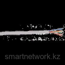 Кабель связи витая пара U/UTP, кат.5E 4х2х24AWG solid, PVC, 305м