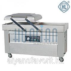 Напольная двухкамерная вакуум-упаковочная машина DZ-600/2SB SS (нерж.)