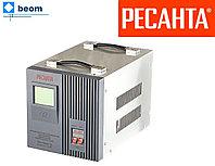 Стабилизатор напряжения РЕСАНТА 5 кВт ACH-5000/1-Ц электронный (релейный)