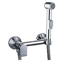 Смеситель с гигиеническим душем настенный GROSS AQUA Bidet 012201C