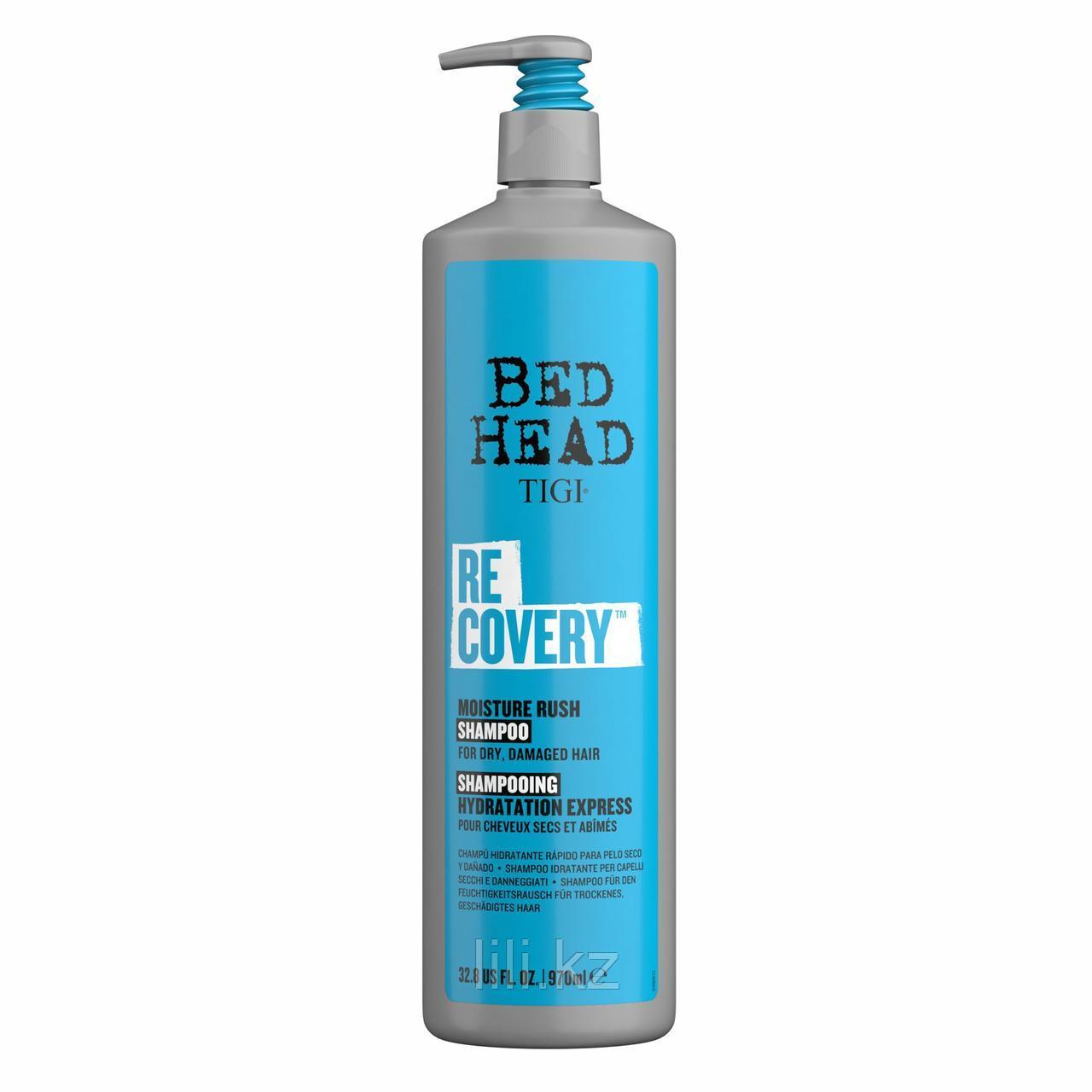 Увлажняющий шампунь TIGI Bed Head для сухих и поврежденных волос Recovery 970 мл.