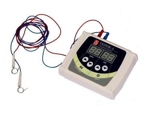 Аппарат для гальванизации и электрофореза Поток-1., фото 2