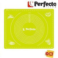 Коврик для теста 50х40 см, с мерными делениями PERFECTO LINEA