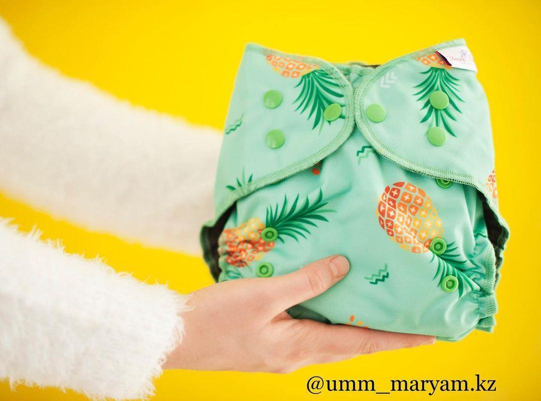 Organic многоразовый подгузник от Umm Maryam