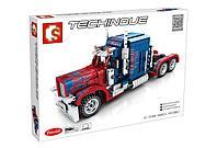 Конструктор 701803 Грузовик Peterbilt, 849 дет. (Аналог LEGO Оптимус)