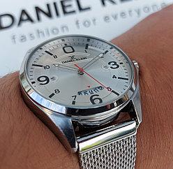 Мужские наручные часы Daniel Klein 11651-1. Миланское плетение. Гарантия. Рассрочка. Kaspi RED.