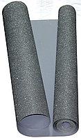 Глиттерный фоамиран 1 мм. в рулоне (1 х 5 м.) - серебристый