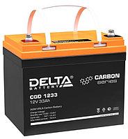 Тяговый аккумулятор Delta CGD 1233 (12В, 33Ач), фото 1